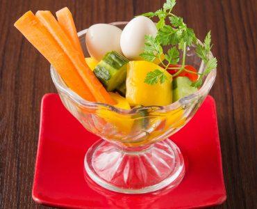 糸島野菜とピクルス 480円(税抜)
